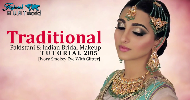 Traditional Wedding Makeup Tutorial : Traditional Pakistani And Indian Bridal Makeup Tutorial ...