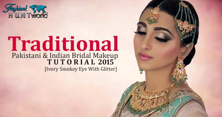 Traditional Pakistani And Indian Bridal Makeup Tutorial ...