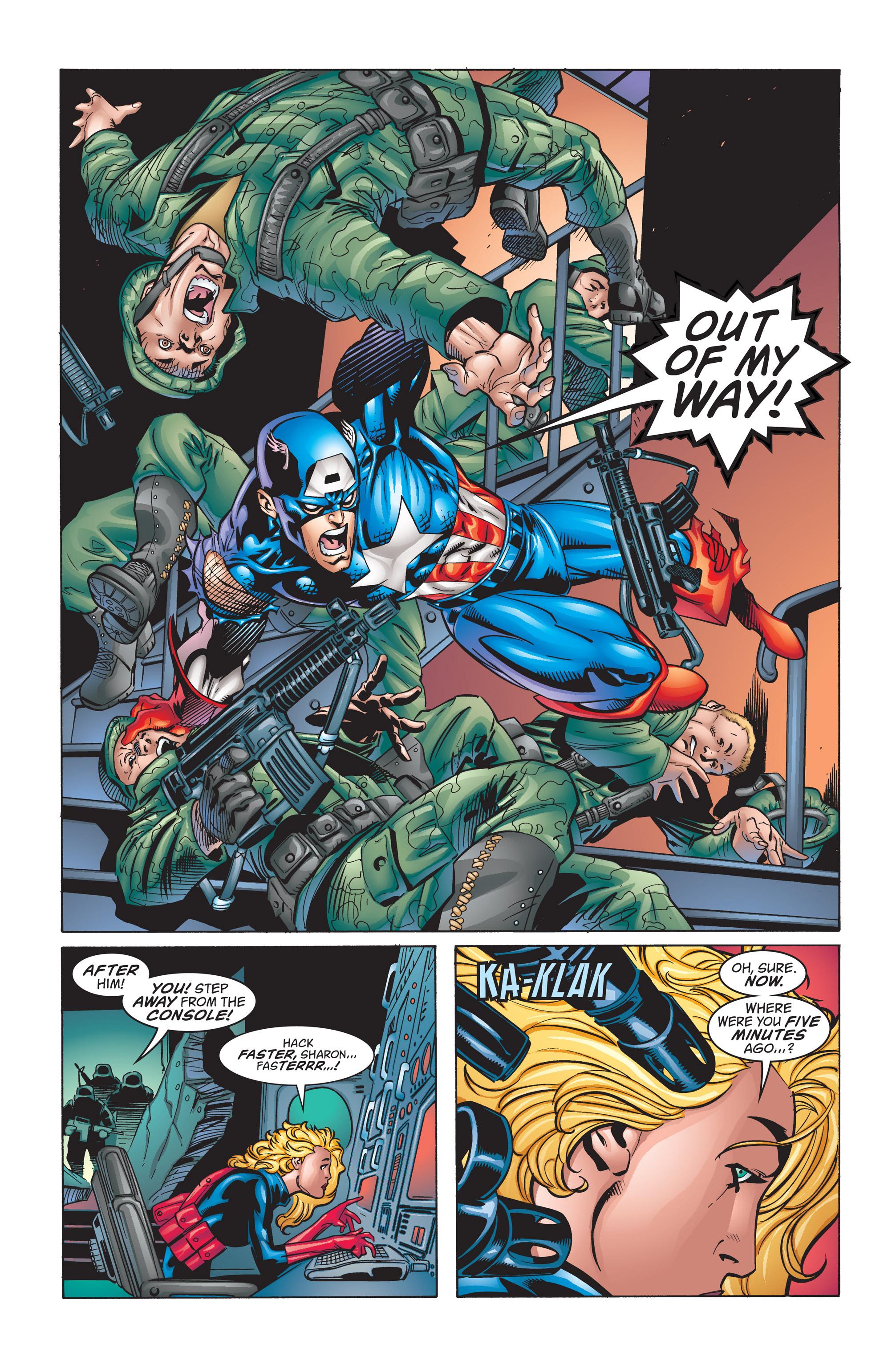 Captain America (1998) Issue #12 #18 - English 21