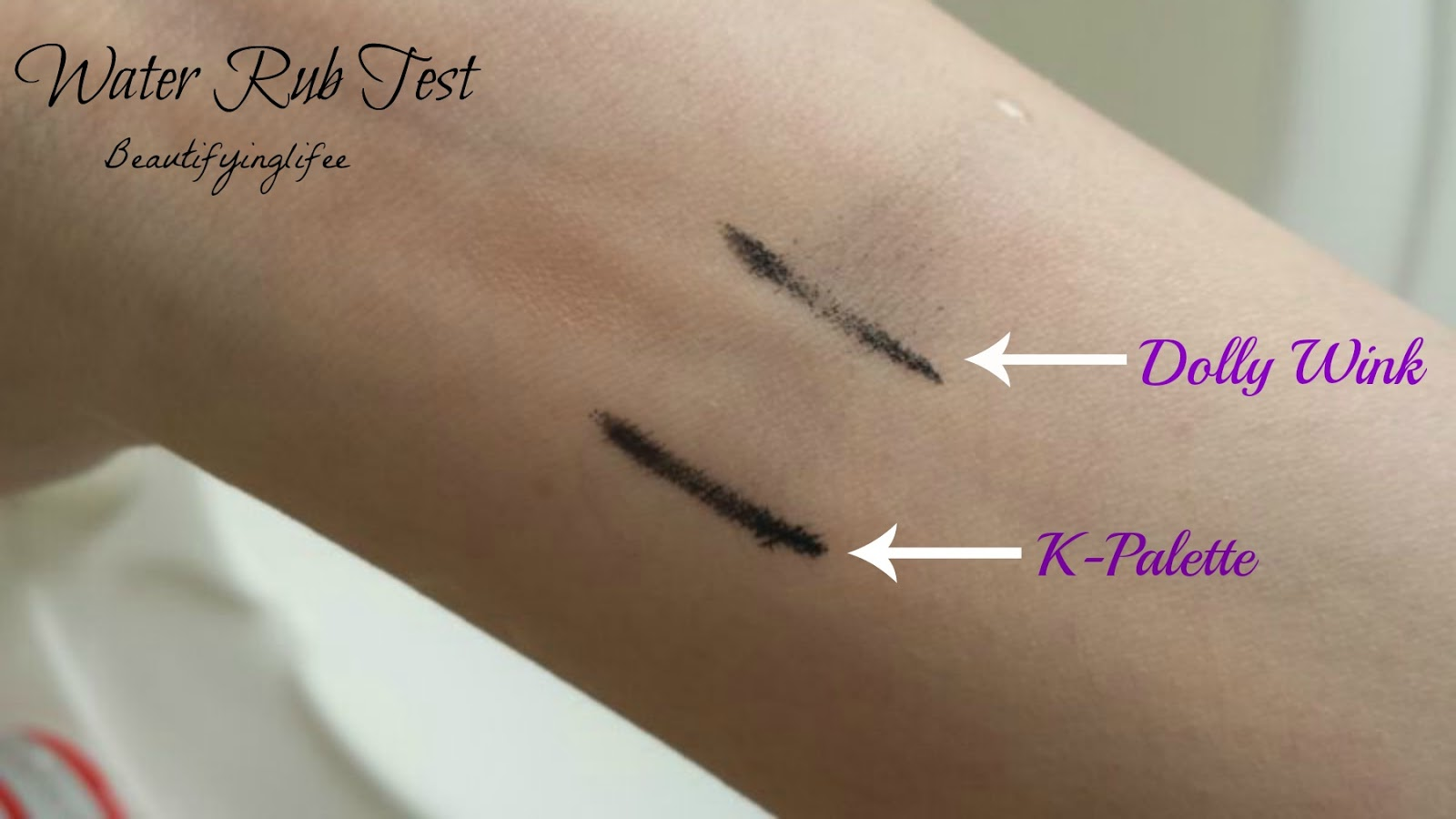 ♥ Beautifying Life ♥: [Review] Comparing Dolly Wink Liquid Liner ...