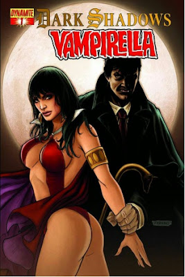 Cover of Dark Shadows/Vampirella #1 from Dynamic Entertainment