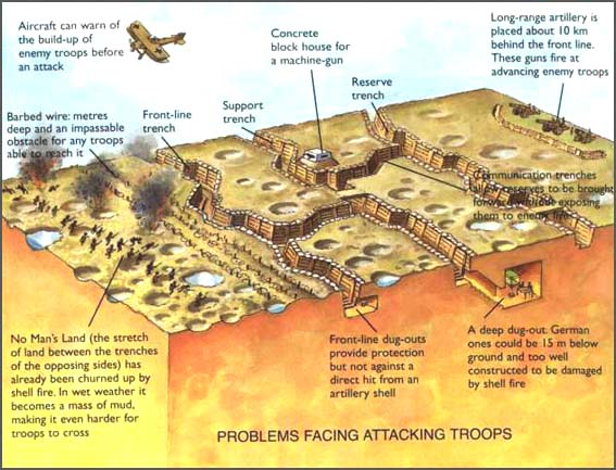a look at the different cause of world war 1 See below for more facts about world war 1 trenches trench warfare is a type of in a zigzag pattern with many different fantastic cause and effect.