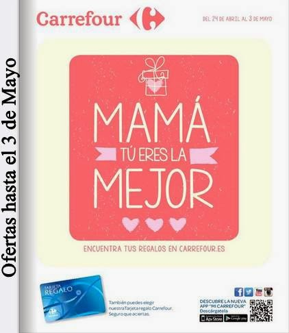 Regalos para el Dia de la Madre 2015 Carrefour