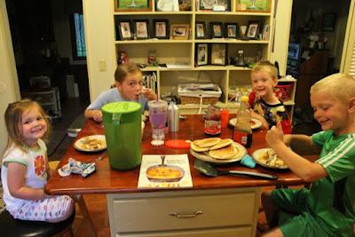 Pancakes, Pancakes by Eric Carle via www.happybirthdayauthor.com