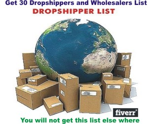 2016 Dropshippers and Wholesalers List