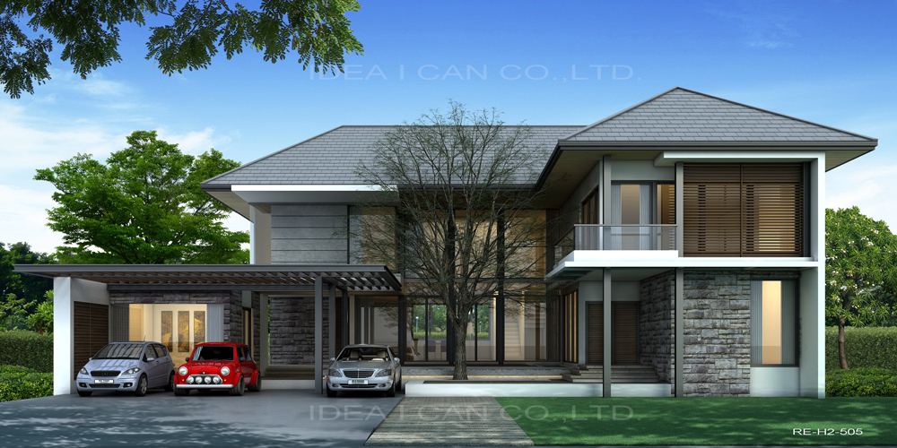 Resort floor plans 2 story house plan 4 bedrooms 6 for Resort style house plans