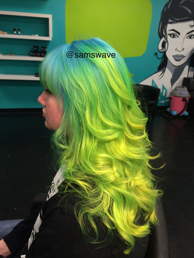 neon colors for your hair the haircut web