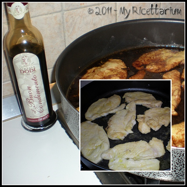 Petto di pollo all'aceto balsamico