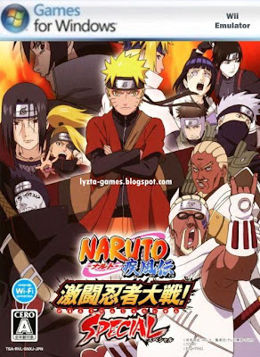 Naruto Shippuden: Gekitou Ninja Taisen Special PC Cover