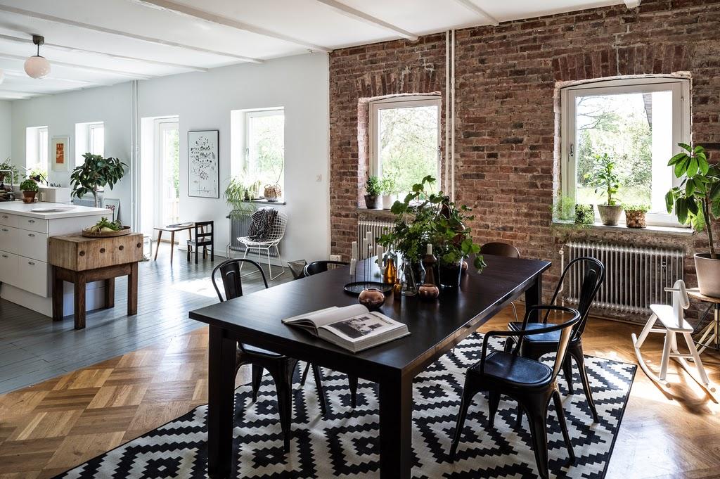 Decor me estilo n rdico industrial en un taller de carpinter a reconvertido en vivienda - Deco land keuken ...