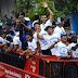 Pawai Persib Juara Di Bandung