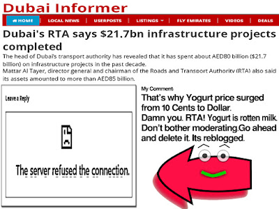 That's why Yogurt price surged from 10 Cents to Dollar. Damn you. RTA! Yogurt is rotten milk. Don't bother moderating. Go ahead and delete it. Its reblogged.