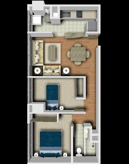 Planos de casas y plantas arquitect nicas de casas y for Distribucion departamentos modernos