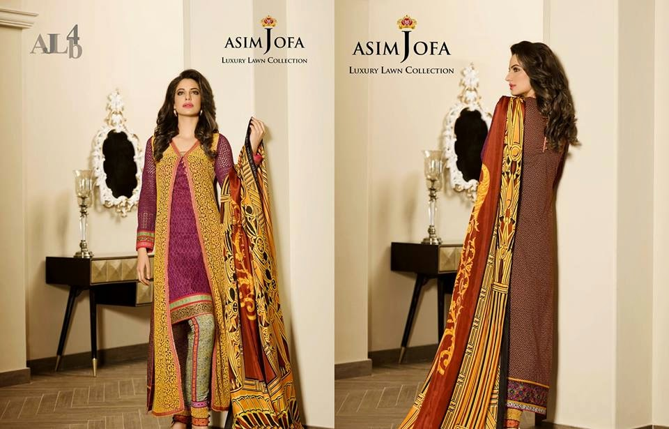 Asim Jofa Royal Summer Lawn 2015 Collection