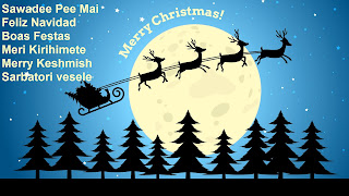 How to Say Merry Christmas in Different Languages Cards