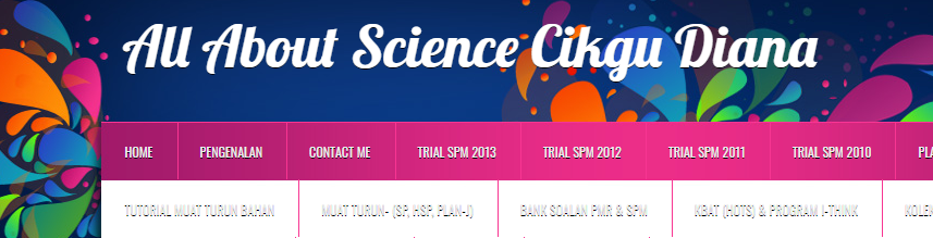 All about Science Cikgu Diana