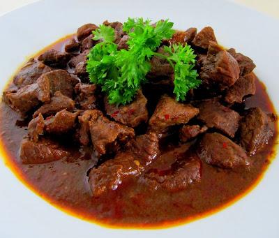 Cara Membuat Daging Rendang Padang Enak