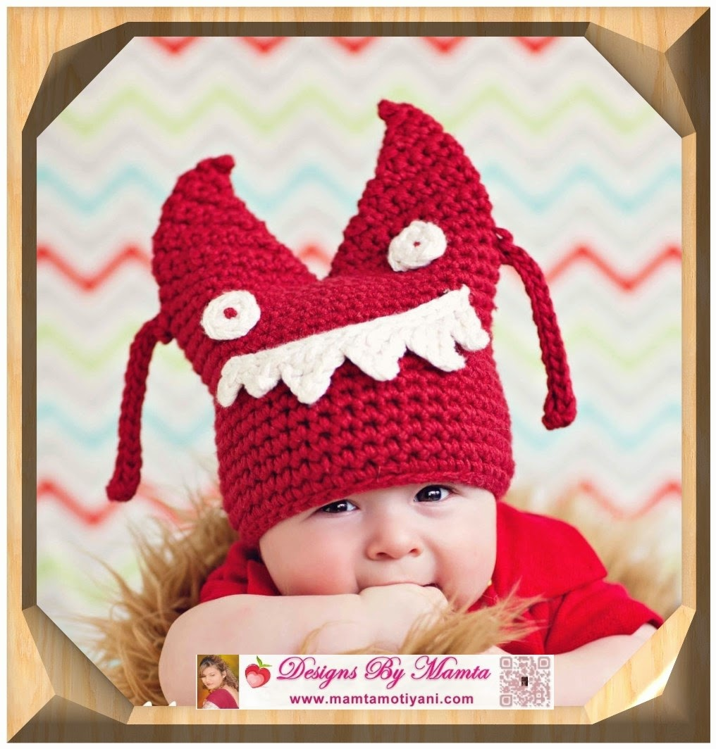 Crochet Kids Hat