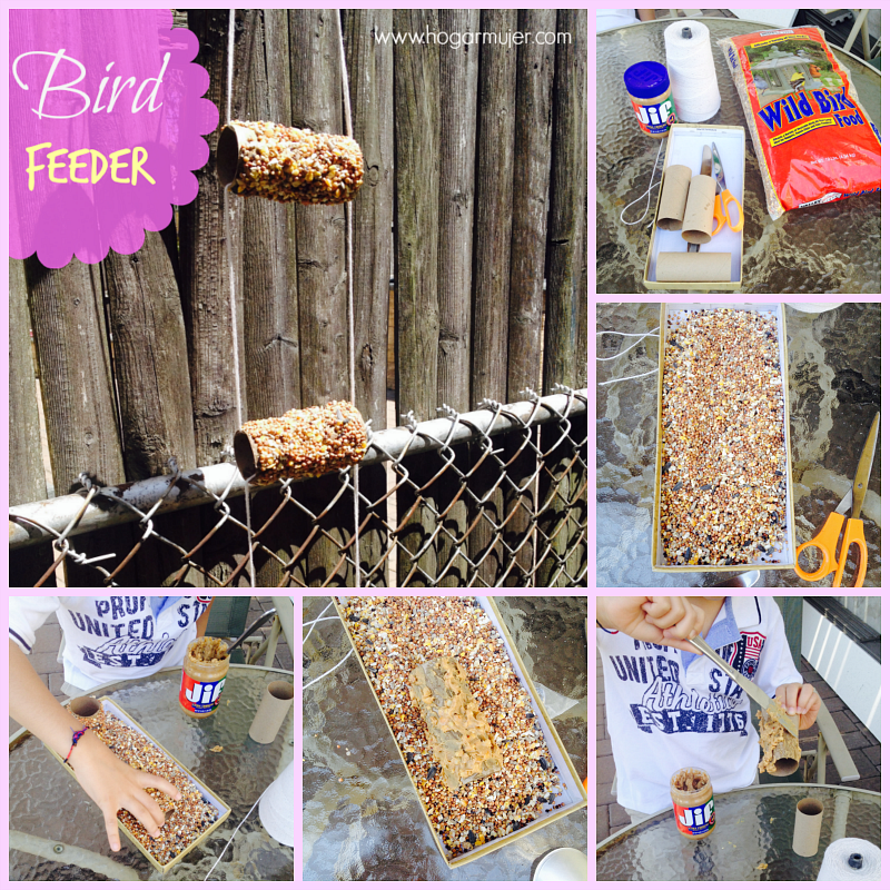 craft- recycle- earth day- bird feeder- kids