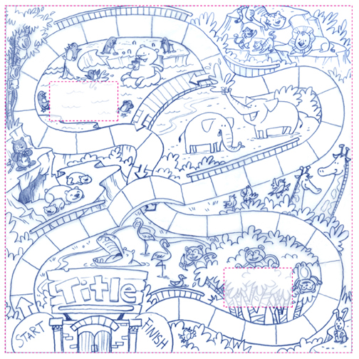 coloring pages of board games - photo#27