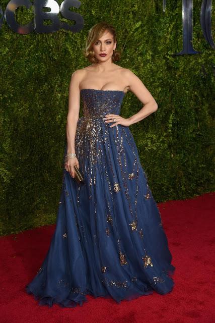 69ª Edição Tony awards 2015 - Jennifer Lopez de Valentino Couture