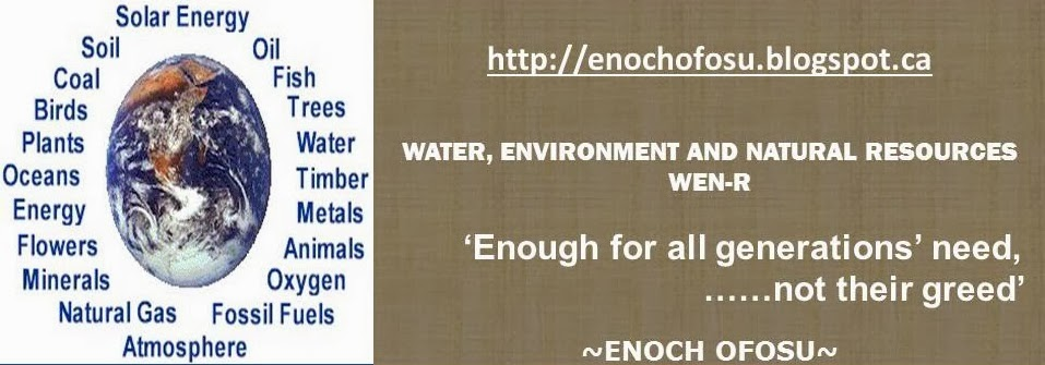 Water, Environment and Natural Resources