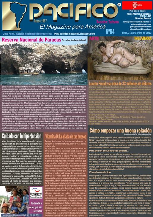 Revista Pacífico Nº54 Turismo