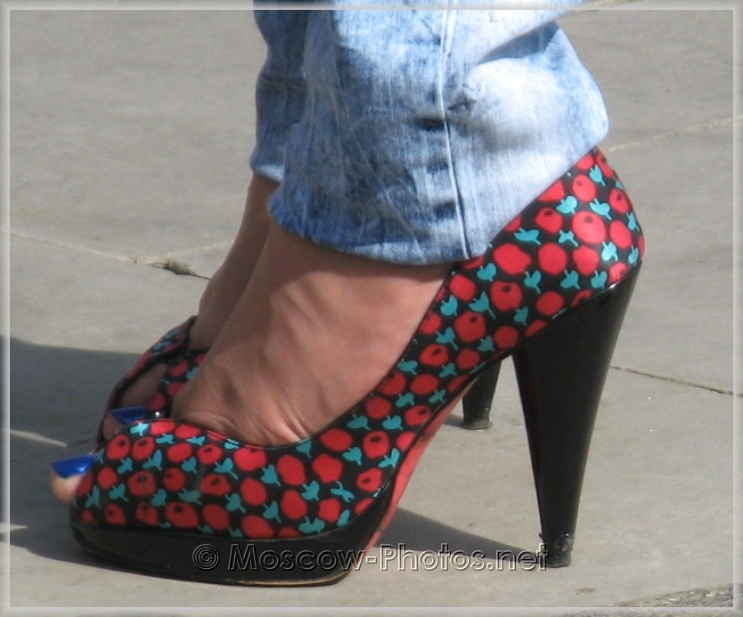 Elegant colored stilettos