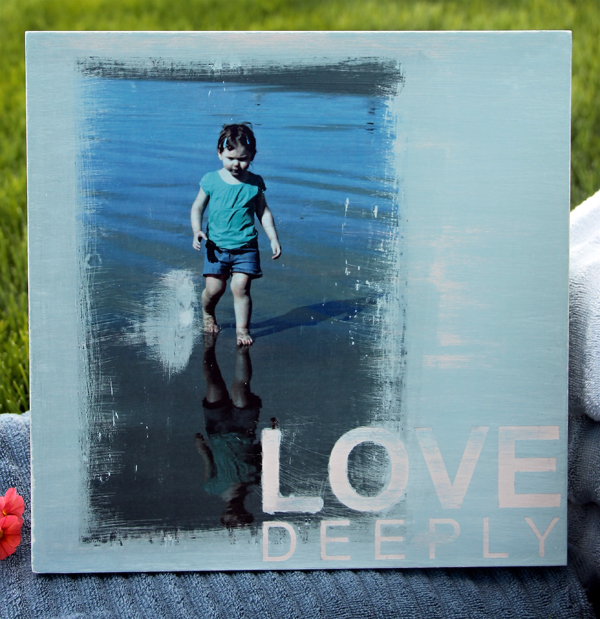 Image Transfer in 4 Easy Steps! @craftsavy @ewiederspohn #phototransfer #diy