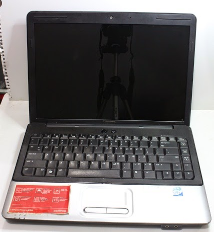 Jual Laptop 1 Jutaan Second Compaq Presario CQ40