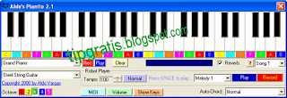 Virtual Drum Piano