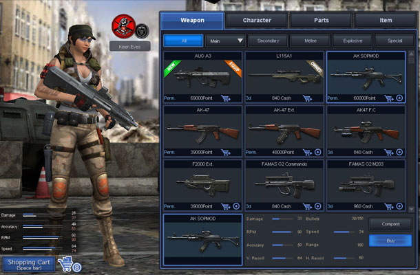 game Online Point Blank Garena Indonesia