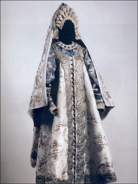 Русские народные костюмы свадебный