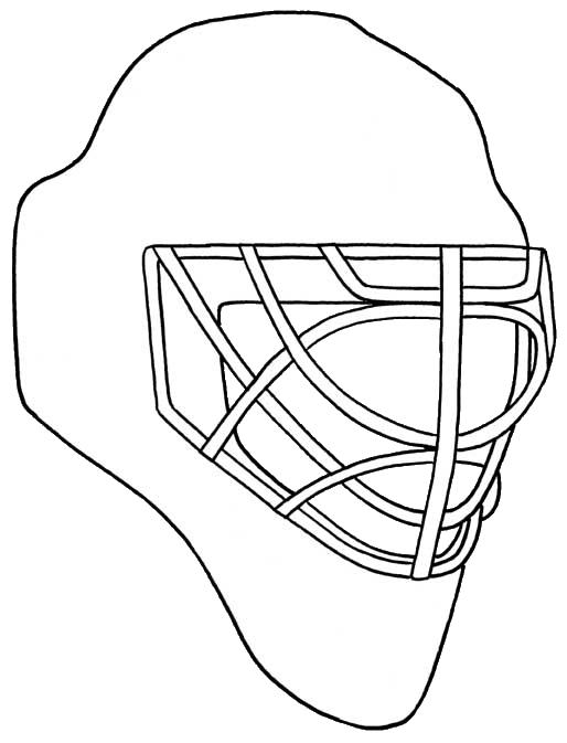 Goalie mask template search results calendar 2015 for Bauer goalie mask template