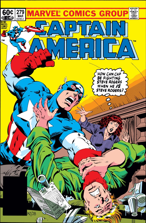 Captain America (1968) Issue #279 #195 - English 1