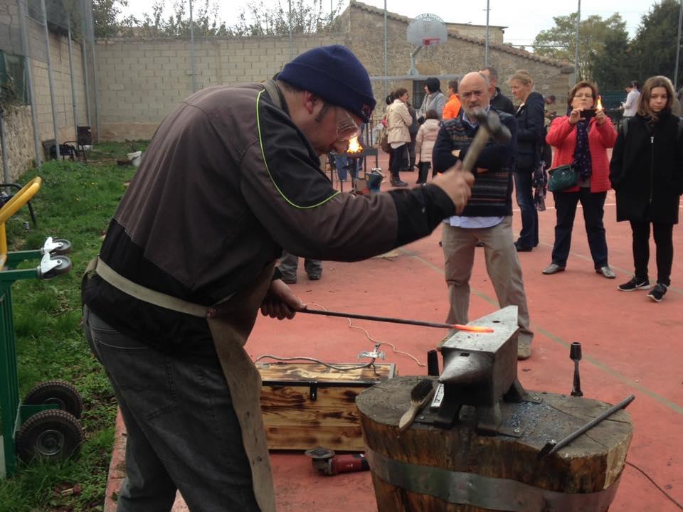 Participando en el encuentro de Olmos de Atapuerca