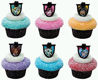 Monster High Cupcakes for children parties