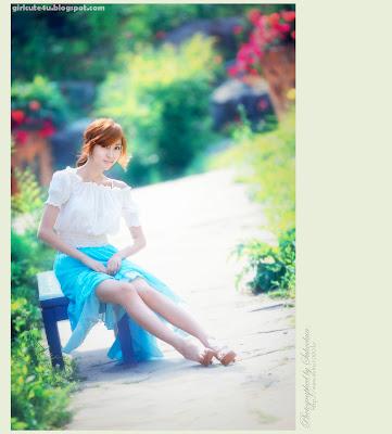 4 Choi Byeol Yee-Legs Show Off-very cute asian girl-girlcute4u.blogspot.com