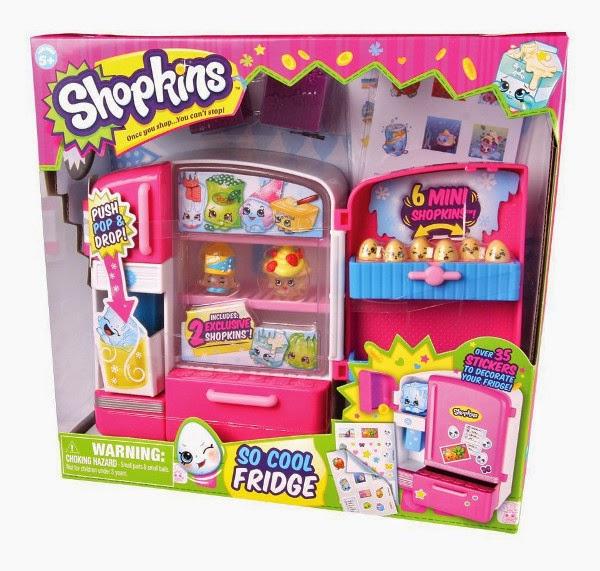 JUGUETES - SHOPKINS - La Nevera  Serie 2 | So Cool Fridge  Producto Oficial 2015 | Giochi Preziosi | A partir de 5 años
