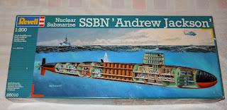 kit revell SSBN Andre Jackson