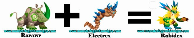 como obtener el rabidex en monster legends formula 1
