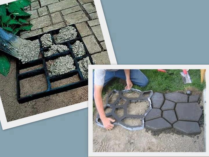 Como hacer un caminito exterior con cemento construccion - Como hacer cemento para suelo ...