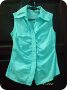 Colour: Baby Blue. Size: S. Price: RM16 inclusive postage! (baby blue shirt)