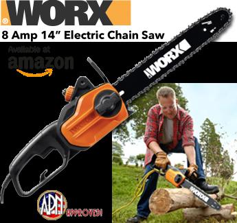 """WORX 14"""" Chain Saw"""