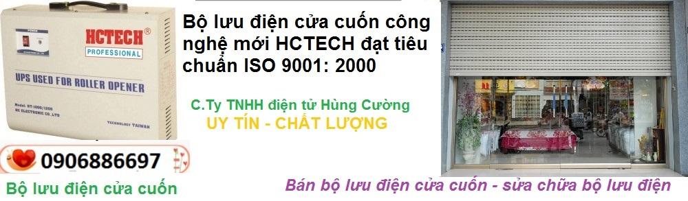Bộ lưu điện cửa cuốn HCTECH 0906886697