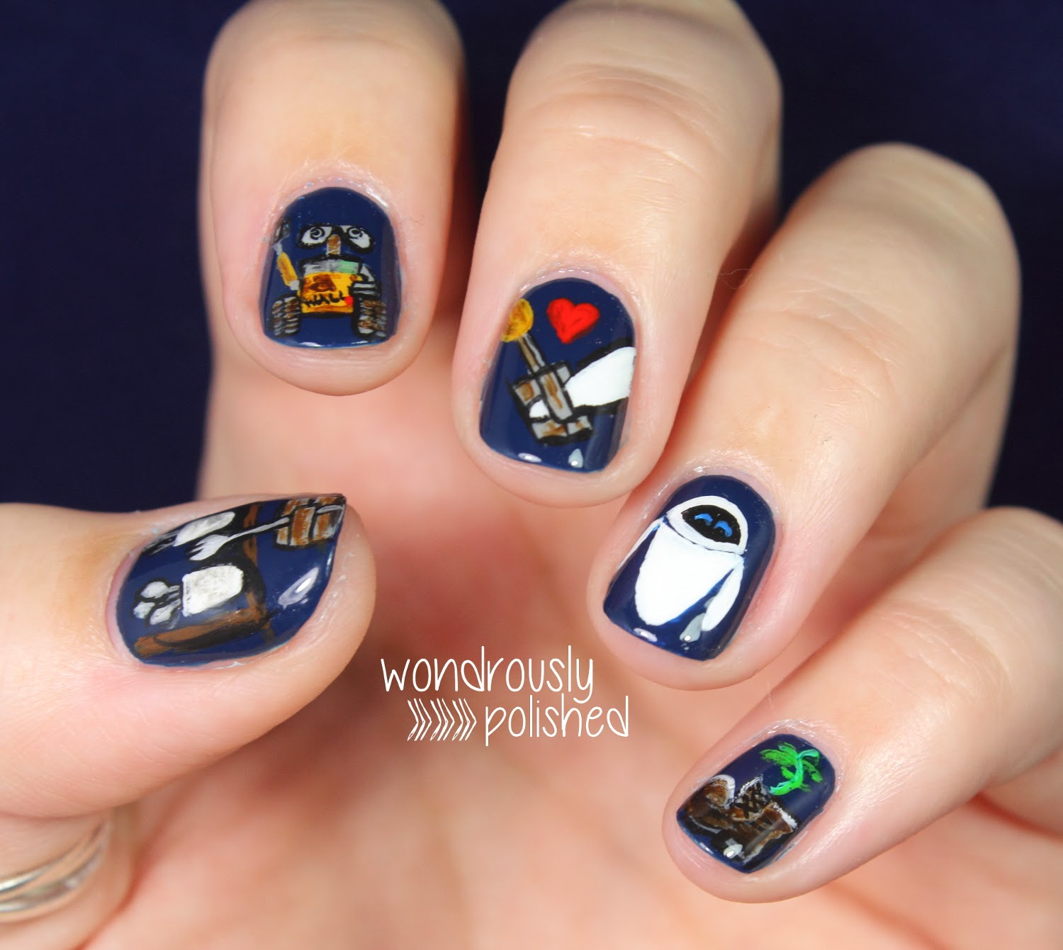 Wondrously Polished 31 Day Nail Art Challenge Day 23 Inspired By