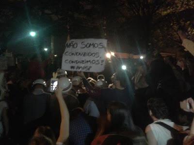 Manifestações pacíficas em SP