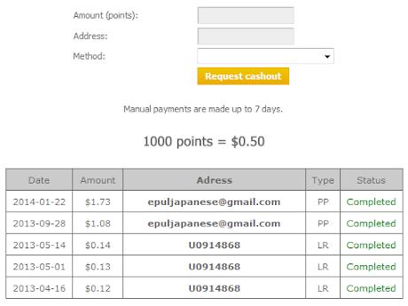 Pembayaran kelima dari PTP24