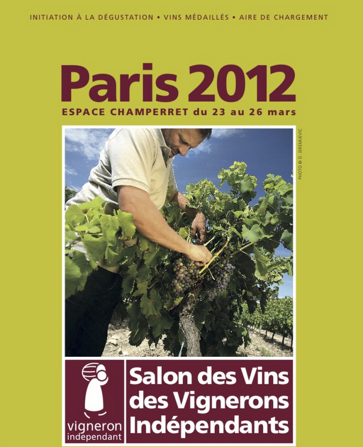 Urbina vinos blog 19e salon des vins des vignerons for Salon des vins independants