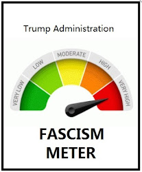 "Every time the ""Fascism Meter"" goes into the red . . ."